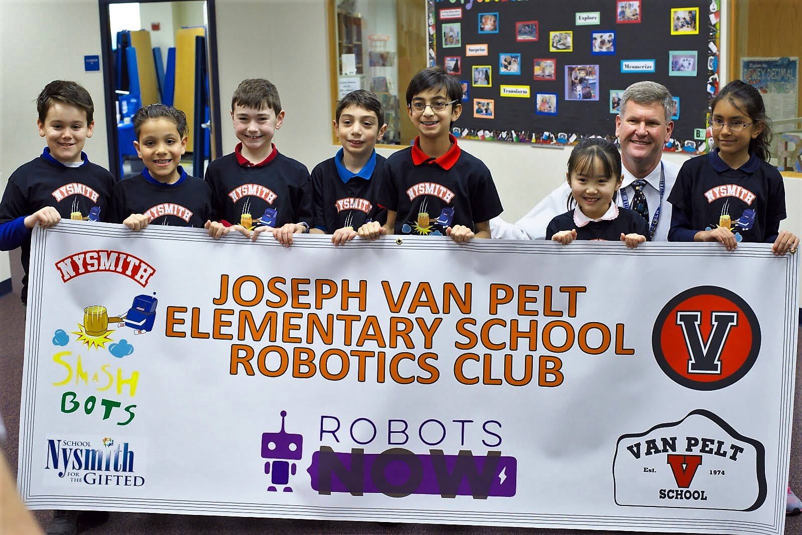 JAN. 2018 Nysmith Robotics Team Helping The Community