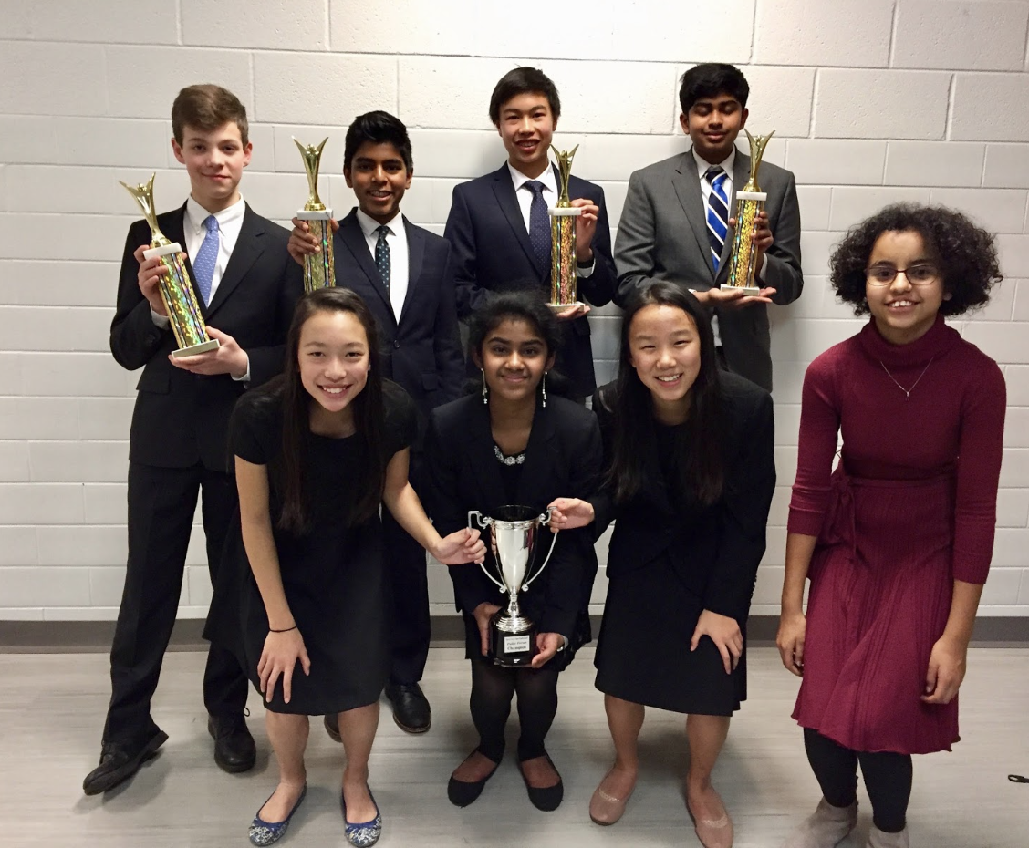 JAN. 2018 Debate Team Sweeps High School Competition