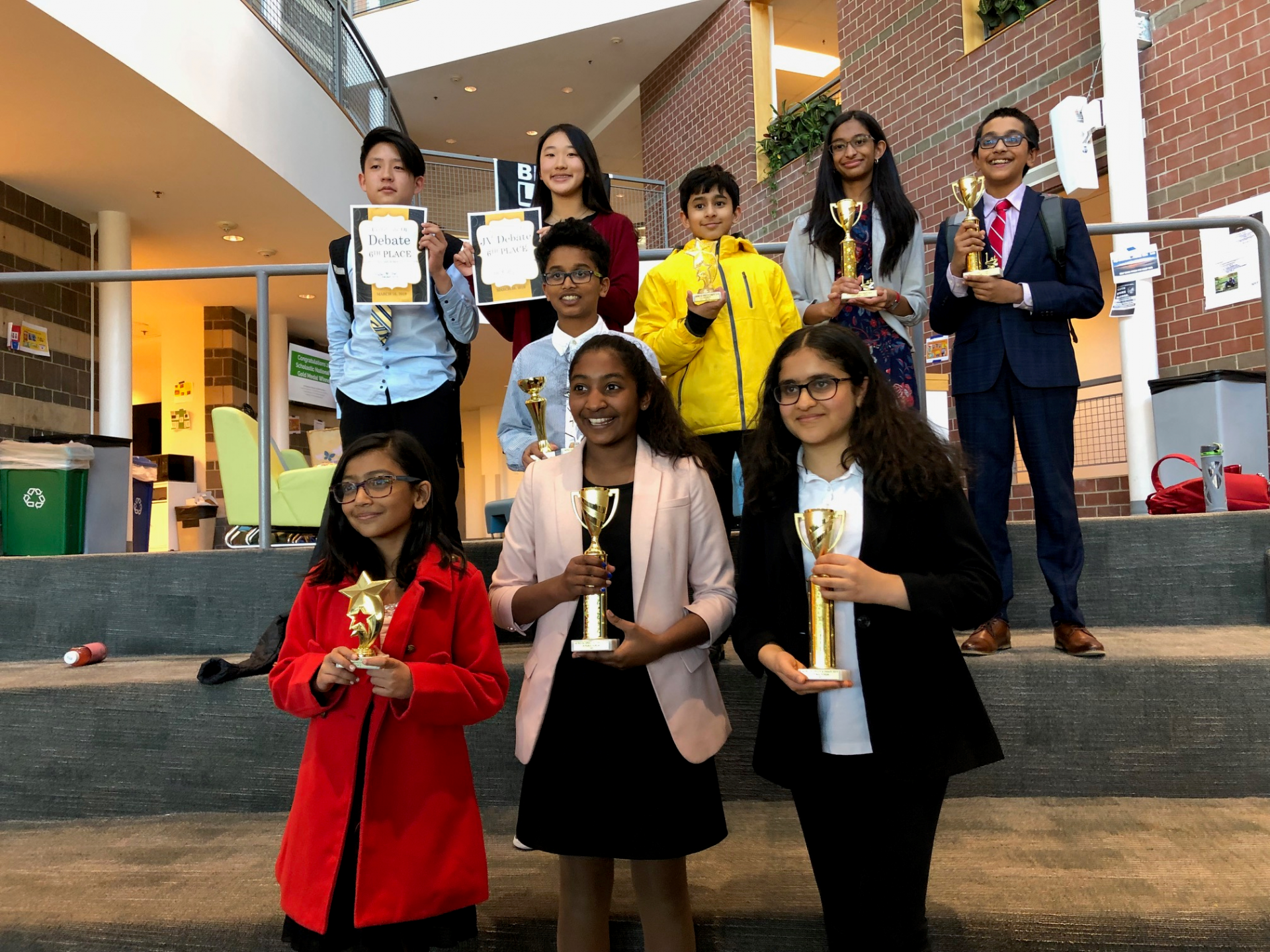 March 2019: Nysmith Debate Team – Georgetown Day School Public Forum Tournament