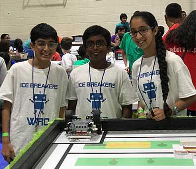 MAY 2019: 5th Grade Nysmith robotics team wins qualification to WRO Nationals in Silicon Valley, CA
