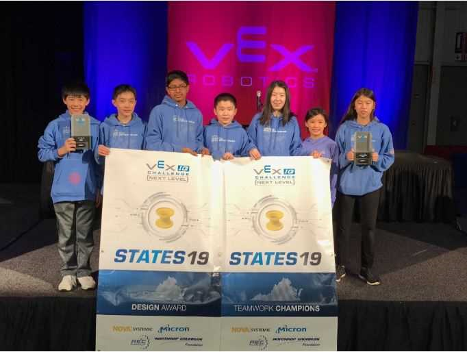 MARCH 2019: VEX IQ ROBOTICS VA STATE CHAMPIONSHIP